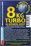 8 Kg Turbo kvasnice 18-20%   (10ks a více cena za 1ks 135Kč)
