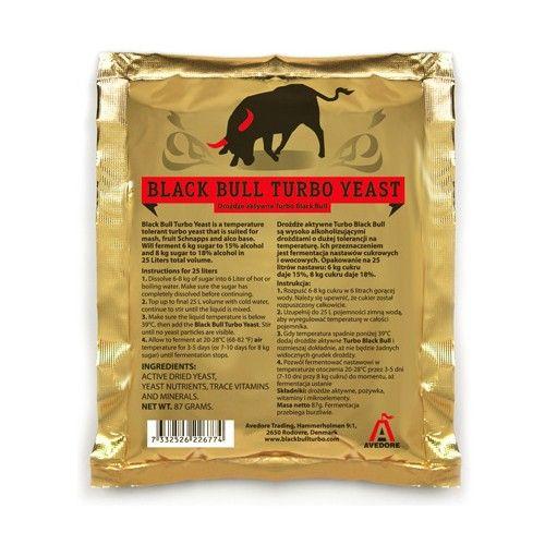 Turbo kvasnice Black Bull 14-18%