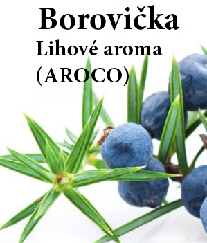Aroma lihové - Borovička 100 ml