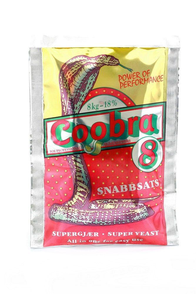 Turbo kvasnice Coobra 8 18%