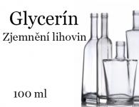 99,5% Glycerin - na zjemnění lihoviny - 100 ml