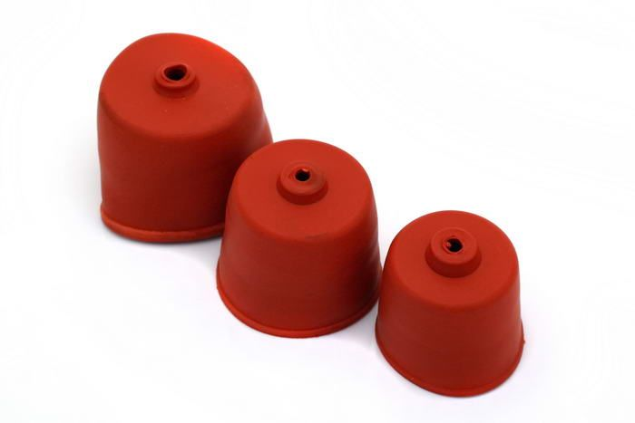 Gumový uzávěr demižonu pro kvasnou zátku 50mm