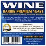 Vinné kvasinky Harris Premium na 23 litrů