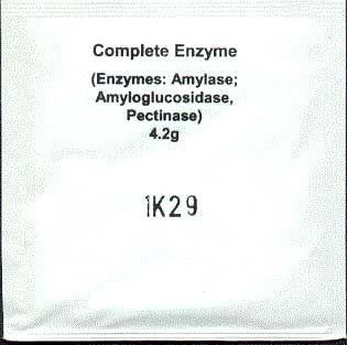 Kompletní 3 v 1 enzymy 5 až 25 litrů