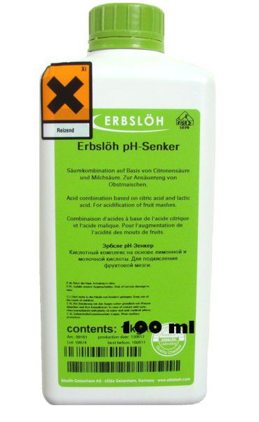 Erbslöh-pH-Senker na opravu PH 1000g
