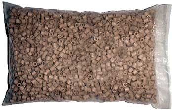 Raschigovy kroužky - keramické 250 g, 10x10 mm