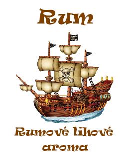 Rumové lihové aroma Kingston 100ml