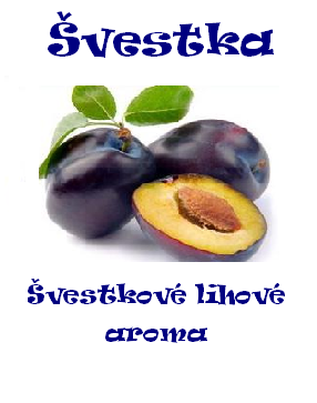Aroma lihové - Švestka 100 ml