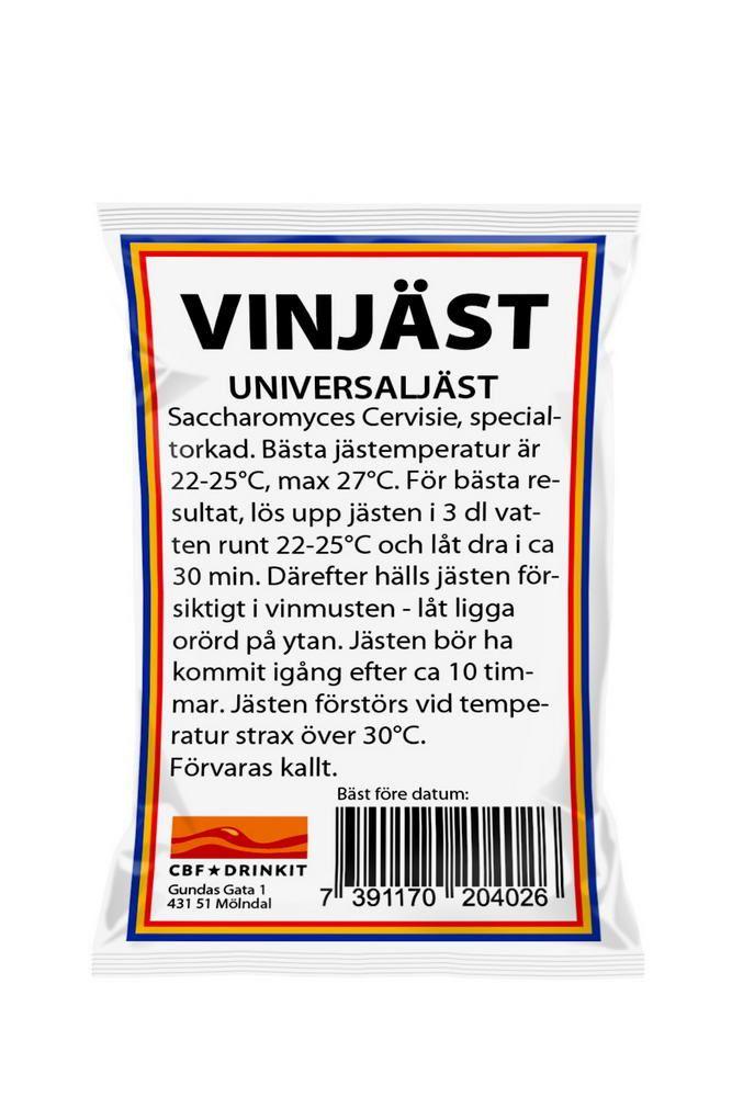 Kvasinky na 5-25 litrů vína nebo ovocného vína