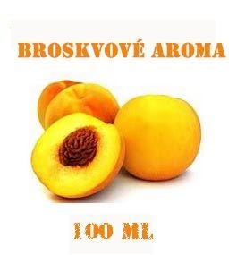 Aroma lihové Broskvové 100 ml