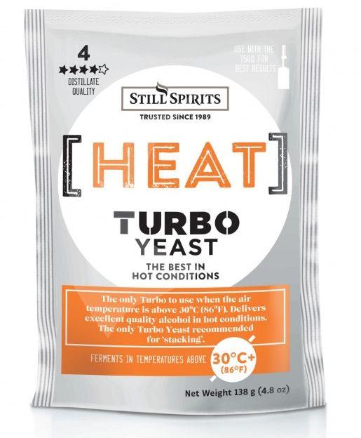 Kvasinky turbo odolné vysokým teplotám - odolné do 40°C.