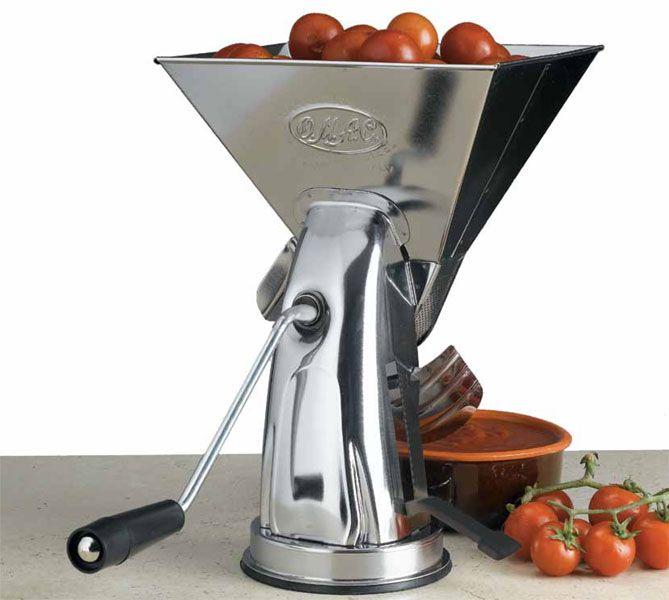 Nerezový mlýnek na rajčata