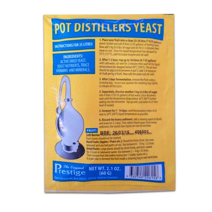 Kvasinky Pot Distillers kvasnice 18% (pro ovocný kvas)