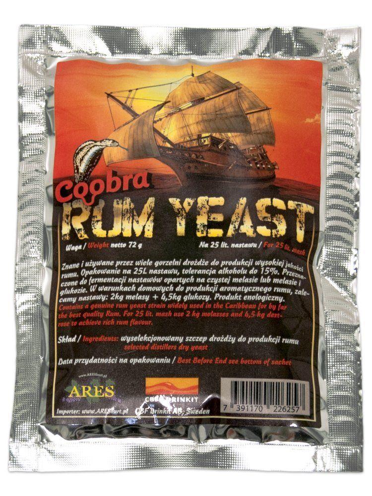 Rumové kvasinky Coobra