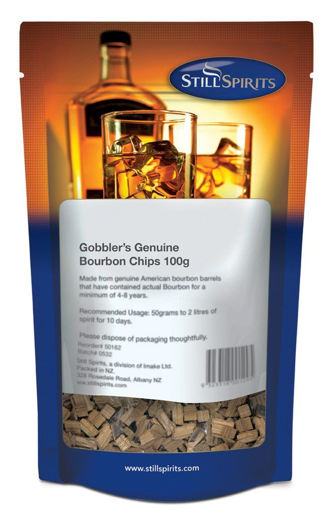 Štěpky Gobblers Genuine Bourbon 100 g