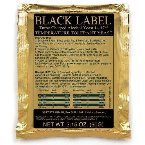 Kvasinky Black Label (14% až 17%)