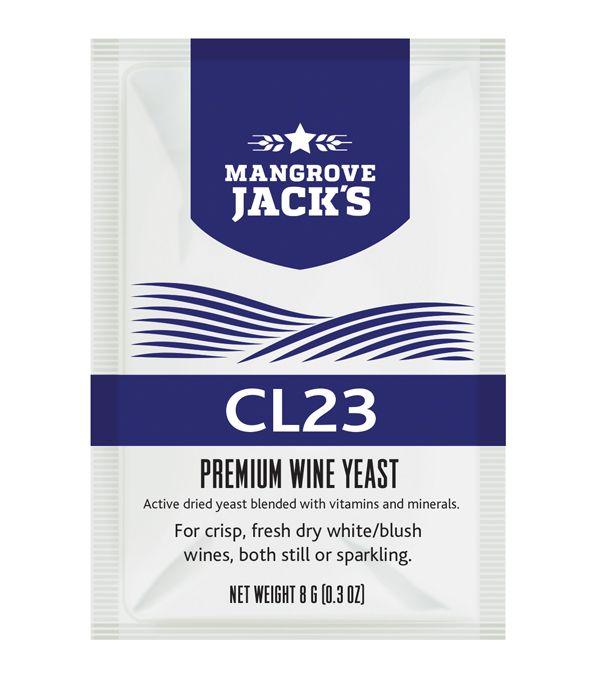 Vinné Kvasinky Mangrove Jack's Yeast - CL23 8g
