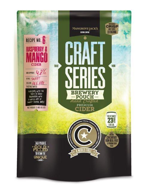 Cider malinovo mangový - set