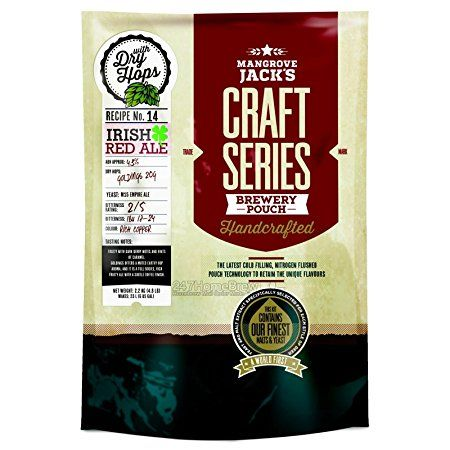 Koncentrát pivní Mangrove Jack's Irish Red ALE Craft Series