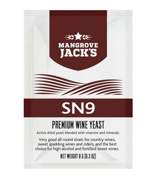 Vinné Kvasinky Mangrove SN9