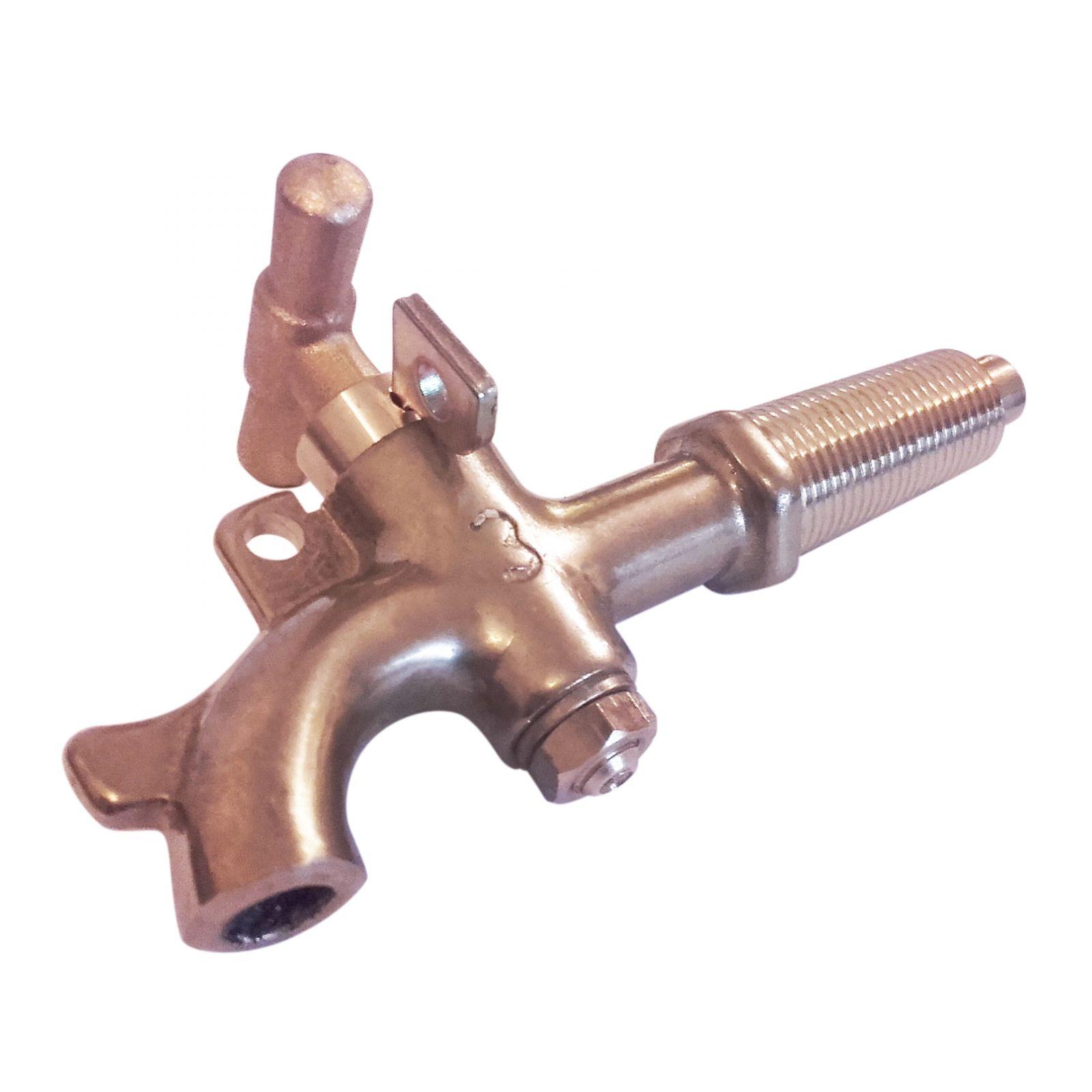 Kohout mosazný průměr 17-19mm