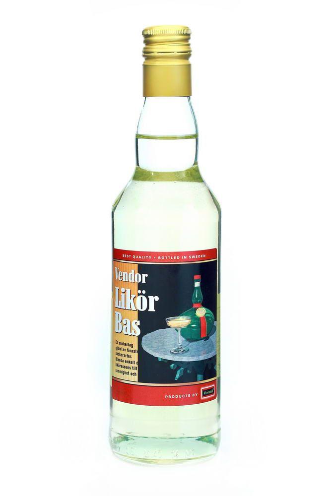Likörbas - Sirup na výrobu likérů - 500 ml